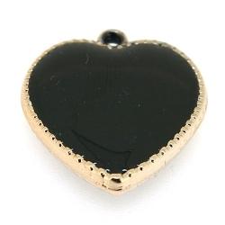 Resin, hanger, hart, zwart, 24 mm (3 st.)
