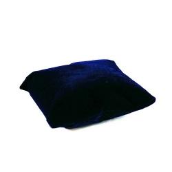 Sieradenkussentje, velours, donkerblauw, 12 x 9 cm (1 st.)
