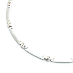 Ketting en armband, sterling zilver (1 st.)