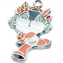 Metaal, bedel, mascotte Olympische Spelen 2008, YingYing (1 st.)