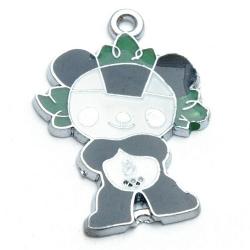 Metaal, bedel, mascotte Olympische Spelen 2008, Jingjing (1 st.)