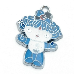 Metaal, bedel, mascotte Olympische Spelen 2008, Beibei (1 st.)