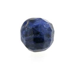 Sodaliet kraal rond facet 10 mm (5 st.)