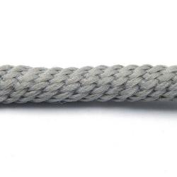 Parakoord, grijs, 5 mm (2 mtr.)