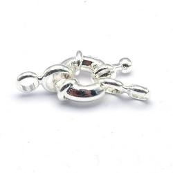 Boeislot, zilver, 10 mm (3 st.)