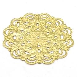 Ornament, filligrain, goud, 30 mm (2 st.)