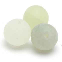 New Jade Frost kraal rond 10 mm (10 st.)