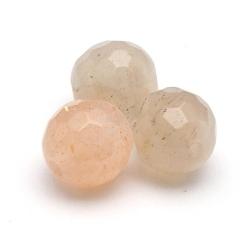 Multi Colour Maansteen kraal rond facetten 6 mm (10 st.)