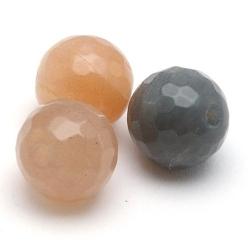 Multi Colour Maansteen kraal rond facetten 8 mm (10 st.)