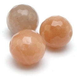 Multi Colour Maansteen kraal rond facetten 10 mm (10 st.)