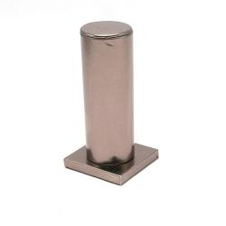 Armband display PU leer brons metallic 15cm (1 st.)