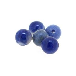 Sodaliet kraal rond 4 mm (20 st.)