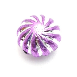 Kunststof kraal rond lila 18 mm (5 st.)