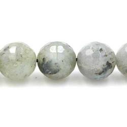 Labradoriet kraal rond facet 10mm (10 st.)