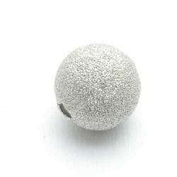 Stardust kraal zilver 12mm (10 st.)