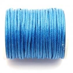 Waxkoord, 10 meter, blauw