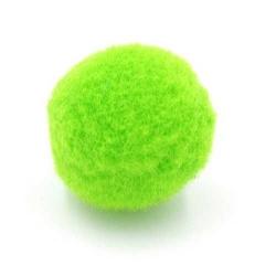 Pompon 26mm groen (5 stuks)