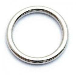 Dichte ring, zilver, metallook, zilver, 18 mm (10 st.)