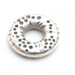 Montagering, metal, zilver, 21 mm (5 st.)