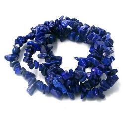 Chips/splitkraal edelsteen Lapis Lazuli (1 streng)