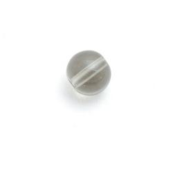 Glaskraal, rond, rookgrijs, 8 mm (streng)