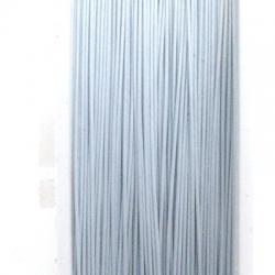 Staaldraad wit 0.38mm (100 meter)