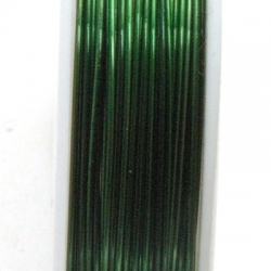 Wire Wire, groen, 0.3 cm (10 mtr.)