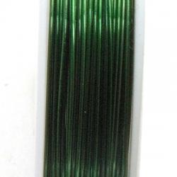 Wire Wire, groen, 0.4 cm (10 mtr.)