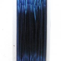 Wire Wire, nachtblauw, 0.4 cm (10 mtr.)