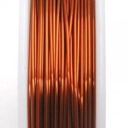 Wire Wire, donkerkoper, 0.5 cm (10 mtr.)