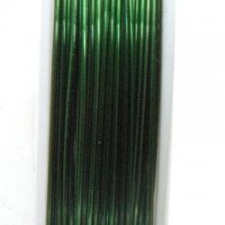 Wire Wire, groen, 0.5 cm (10 mtr.)