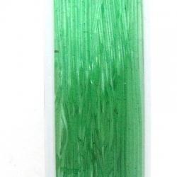 Elastiek rijgdraad 0.6mm groen (10 meter)