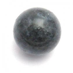 Black Water Jaspis kraal rond 14mm (5 st.)