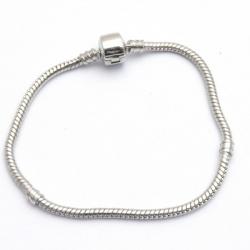 Armband, pandora style, 19 cm (1 st.)