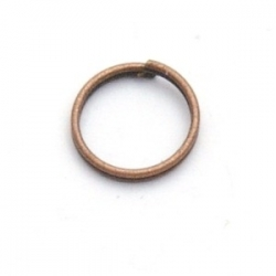 Ring split brons 10 mm (20 st.)