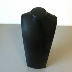 Buste, velours, zwart, 32 x 20 cm (1 st.)