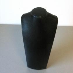 Buste PU leer zwart 14x26cm (1 st.)