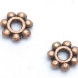 Spacer, brons, 4 mm (50 st.)
