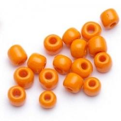 Rocailles, oranje, 3 mm (50 gr.)