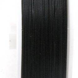 Staaldraad zwart 0.38mm (100 meter)
