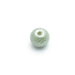 IJsparel, rond, groen, 8 mm (25 st.)