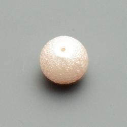 IJsparel, rond, roze, 12 mm (15 st.)