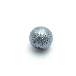 IJsparel, rond, grijs, 10 mm (20 st.)