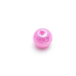 IJsparel, rond, fuchsia, 8 mm (25 st.)