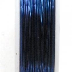 Wire Wire blauw 0.6mm (10 mtr.)