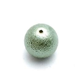 IJsparel, rond, groen, 14 mm (10 st.)