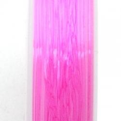 Elastiek rijgdraad 1.0mm roze (10 meter)