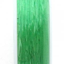 Elastiek rijgdraad 1.0mm groen (10 meter)