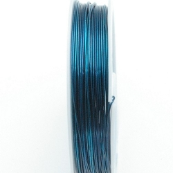 Wire Wire, petrol, 0.3 mm (10 mtr.)