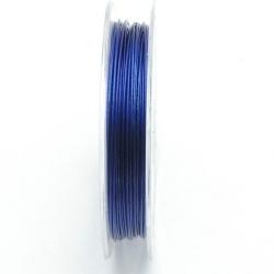 Staaldraad donkerblauw 0.45mm (10 meter)